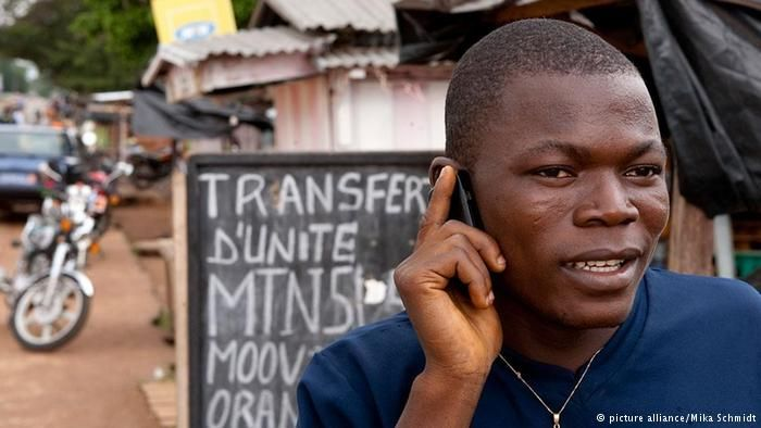 african child with cell phone - Google Search