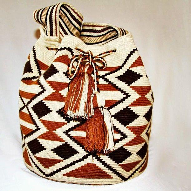 Beautiful handmade mochila! #nativostyle #unique #colombian
