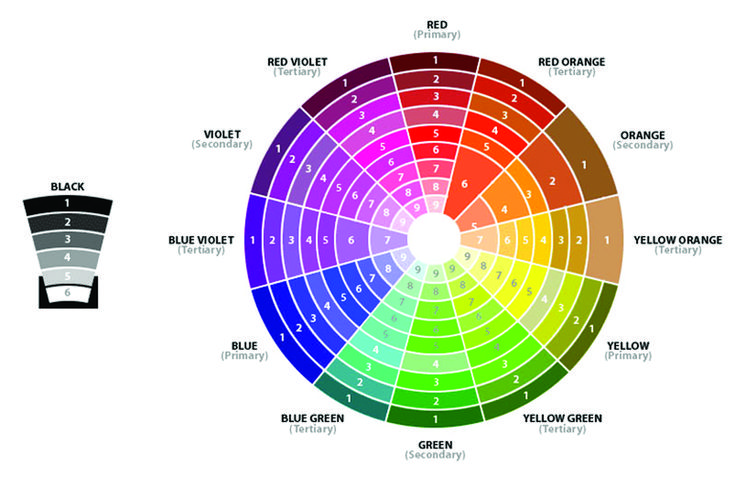 Color Wheel Design Floristry Training Important Pics Pinterest Color Wheels Wheels