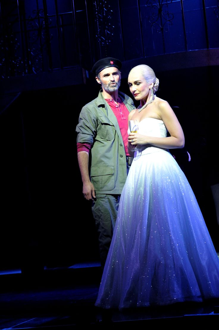 Madalena Alberto stars as Eva Peron and Marti Pellow as Che in the new UK Tour Production of Andrew Lloyd Webber and Tim Rice acclaimed musical EVITA that opened at London's New Wimbledon Theatre on May 15th 2013, prior to embarking on a national and international tour. - http://www.todomusicales.com/content/content_english/4518/madalena-alberto-dazzles-in-the-new-british-touring-production-of-evita/