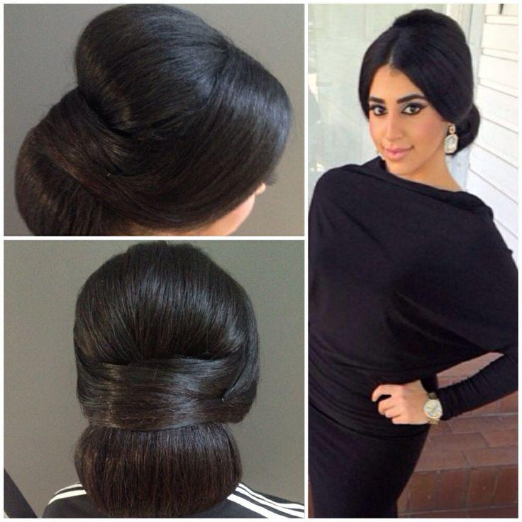 Hair bun classy