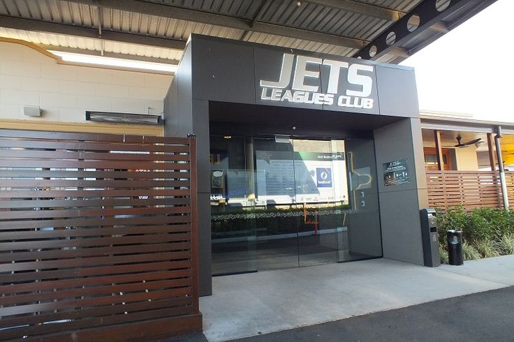Main Entry to the Jets