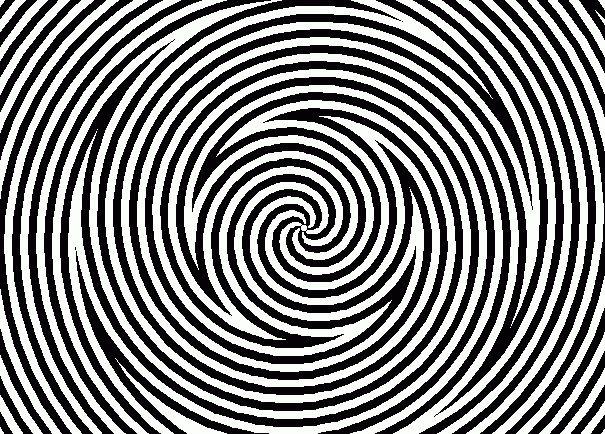 optical illusions illusion mighty eyes pinwheel effect