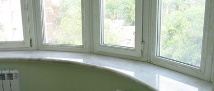 Marmor Fensterbänke sind beliebt, werden im Innenbereich eingesetzt, die Muster verleihen eine besonderes Aussehen.