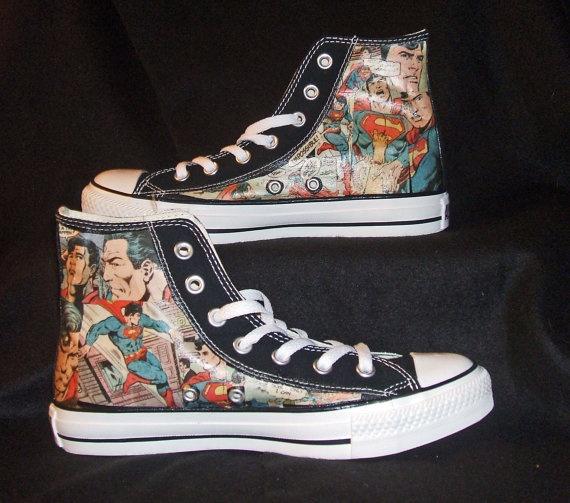 batman converse shoes dc x comic art styles challenge