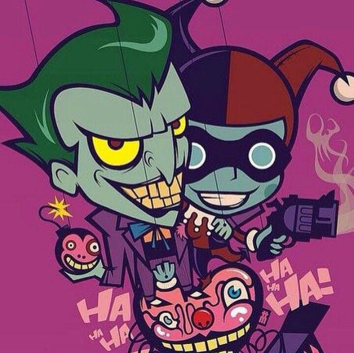 Joker Orheyn Lai: 38 Best Harley Quinn & Friends Images On Pinterest