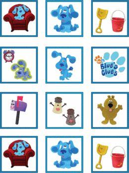 Blues Clues Printables