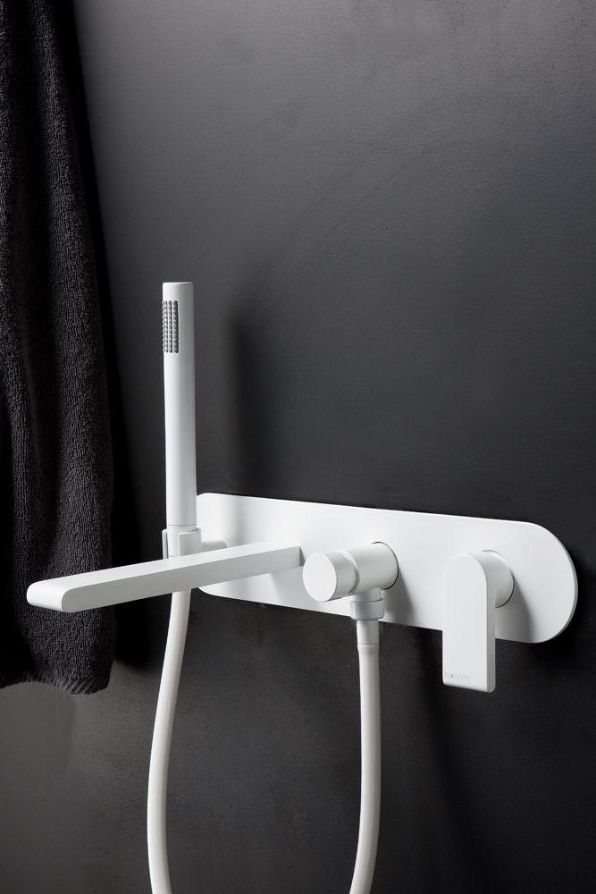 rubinetto BONNY (versione white matt) - by Bonomi Contemporaneo Italiano - design Sergio Mori - http://www.idrosanitariabonomi.com/it/