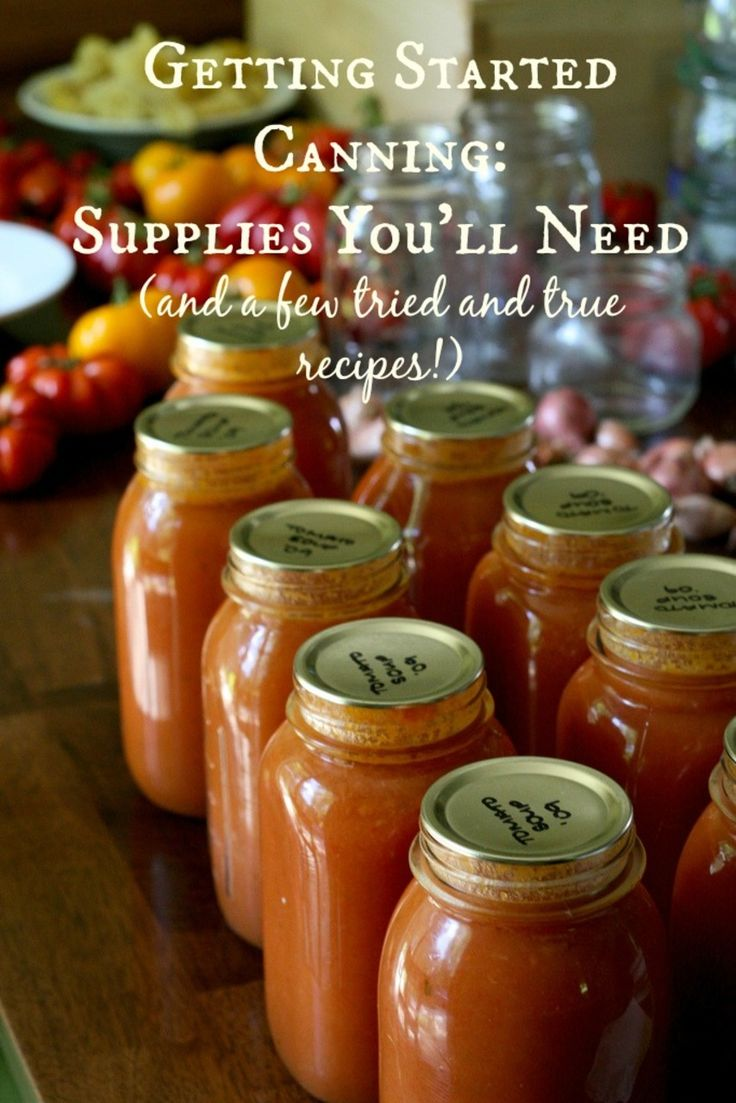 Get Your Canning Supplies Ready! - The Browning Homestead