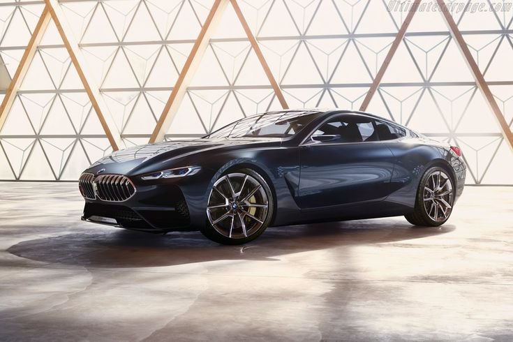 2017 BMW 8 Series Coupe Design Study: 11-shot gallery, full history and specifications