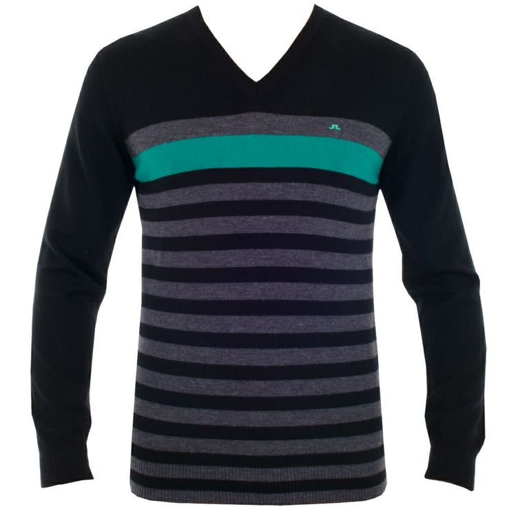 J Lindeberg Gus True Merino Black #golf #fashion #trendygolf #jlindeberg