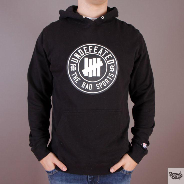 Czarna bluza z kapturem Undefeated BS Pullover Hoodie Black / www.brandsplanet.pl / #undefeated #UNDFTD