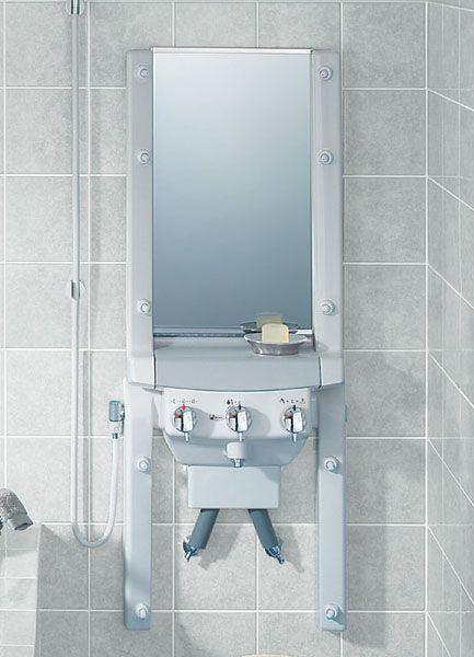 白く曇った鏡→消毒用エタノールで拭き拭き。 または100均で手に入る「クエン酸」で拭き拭き。