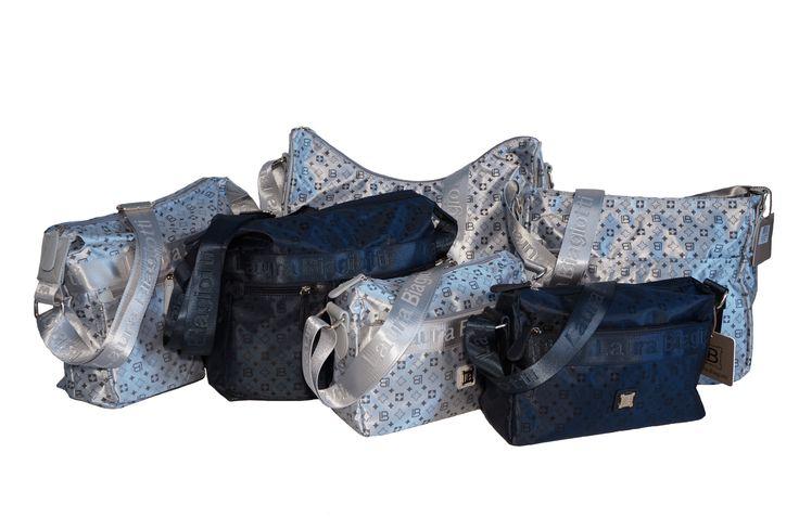Borse sportive in microfibra Laura Biagiotti, nei colori argento e blu. Per info e acquisti visita la nostra vetrina su Amazon: http://www.amazon.it/s/ref=sr_nr_p_4_2/280-5365545-0161833?me=AMVJO3UPU429R&fst=as%3Aoff&rh=p_4%3ALaura+Biagiotti&ie=UTF8&qid=1434010059