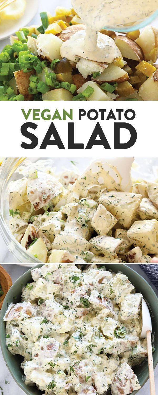 This vegan potato salad is light, bright, and delicious! Not only is this vegan …
