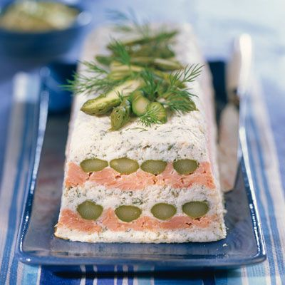 AsparagusTerrine with Salmon - Terrine d'Asperges au Saumon