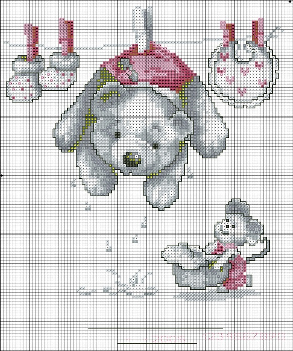 Point de croix : ❤️*❤️ cross stitch  Gallery.ru / Фото #2 - Мишки - anethka