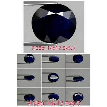 Jual beli natural royal blue sapphire 9.38 ct di Lapak rajawali star gemstone - ww98. Menjual Batu Mulia Permata - natural sapphire  weight 9.38ct ets size 14x12.5x5.3 color royal blue  treatmnet gf origin madagascar shape oval cut (body glass mantap ) mitos bulan September  dihubungkan dengan batu safir, lambang kejujuran dan kebersihan jiwa. Konon batu ini warnanya akan berubah jadi gelap jika pemakainya berselingkuh atau punya jiwa dan niat jahat. Libra (23 Sep-22 Okt) Batu Keberuntungan