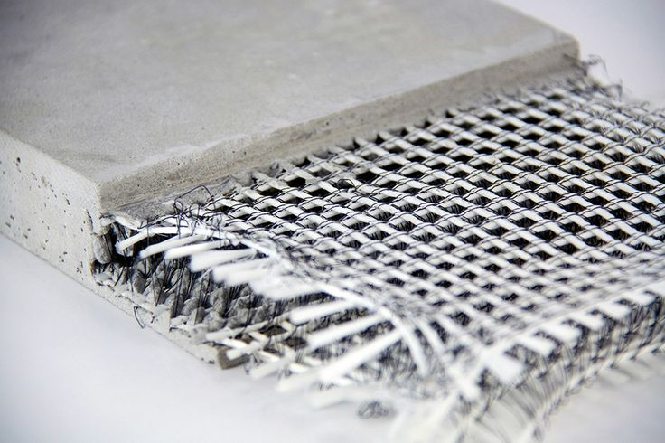 The construction material of the future - Textile research institutes and corporations have in recent years researched fiber-based alternative construction materials and developed products ready for market.