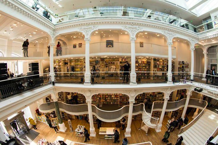 Cărturești Carusel Bookstore in Bucharest   #amazing #bookstore   photo by Ciprian.