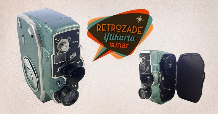 Bauer 88B 8mm Film Kamerası 1954 - Almanya