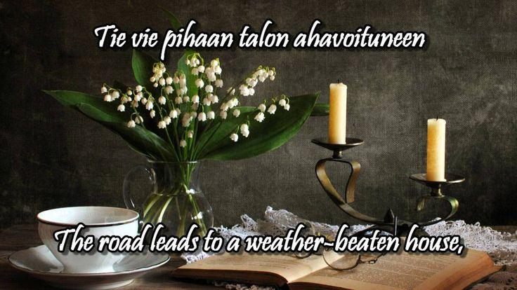 Kielletyt kielot w/lyrics (english, finnish) - Johanna Kurkela