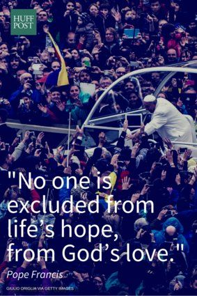 """Pope Francis quotes, taken from his book, """"Walking With Jesus."""""""