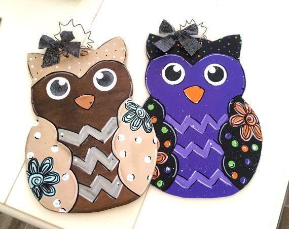 Whoo... Owl Door Hanger