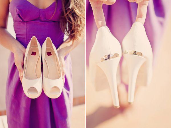 свадебные белые туфли на каблуке #wedding #white #shoes