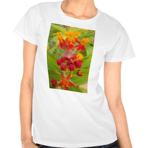 Hakuna Matata lovely green red yellow Flower Buds. Tees #clothing #Tee #Shirts #Kenyan #Sheng #Slang #Local #Motto #Tshirts & #Shirts