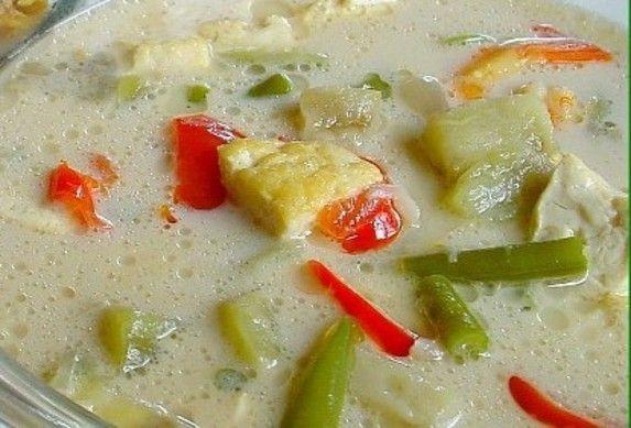 Indisch eten!: Indonesische recepten: Sajoer lodeh met tempé (en tahu)