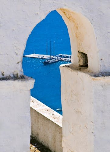 Blue & white, Serifos, Greece