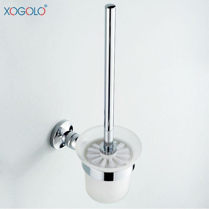Купить товарXogolo чашку все меди туалет щетка для унитаза туалет ванная комната держатель для туалетной щетки 3395 в категории Держатели бумагина AliExpress.