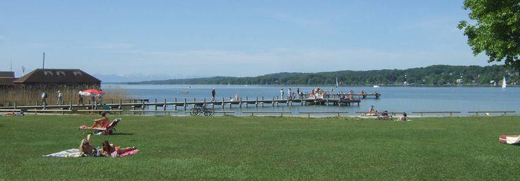Starnberger See: Badeplätze und Strände