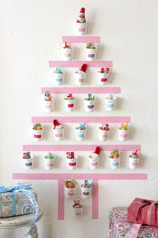 Washi Tape Advent Calendar. Gorgeous!