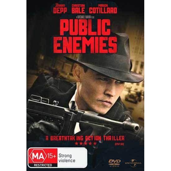 Public Enemies DVD Brand New Region 4 Aust. - Johnny Depp (as John Dillinger)