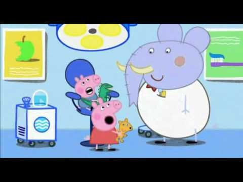 Peppa Pig. Peppa Pig Dentist Trip. Childrens books. Nursery Rhymes. Audiobook. English rhymes. - YouTube