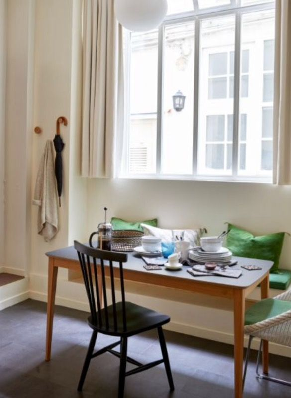 """This nice dining area is from our feature """"Small but Smart"""""""
