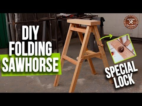 how to build a sawhorse youtube