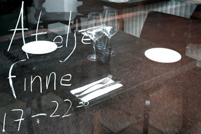 Really, really great food in Helsinki! Fresh and honest!  Ateljee Finne in Helsinki