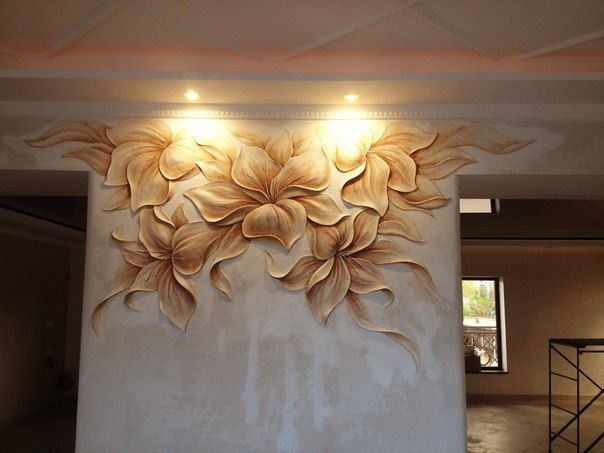 Plaster Wall Lights For Painting : 809 best images about *murals* on Pinterest Uv black light, Underwater and Beach mural