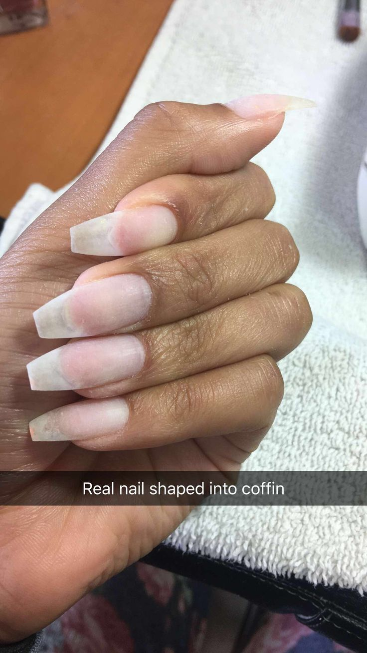 no acrylic real natural nail my nails in 2019 natural