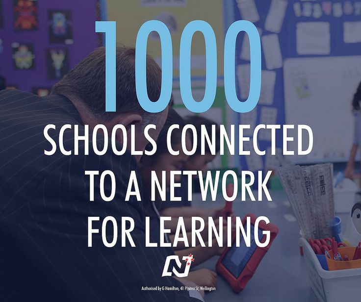Connecting schools to faster and more reliable internet means young New Zealanders will learn vital skills no matter where they are in New Zealand. http://ntnl.org.nz/1sa5P8t #Working4NZ