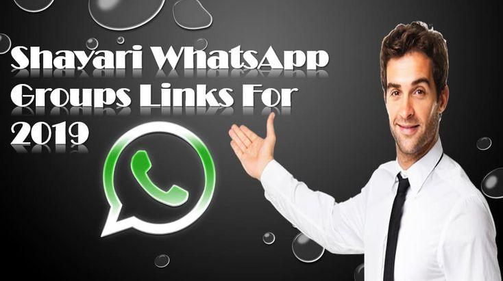 Latest Active Shayari Whatsapp Groups For 2019_Shayari Whatsapp Groups