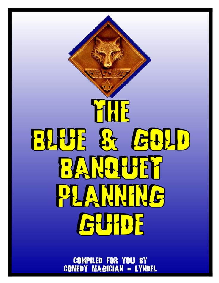 133 best images about boy scouts on pinterest dinner for Cub scout blue and gold program template