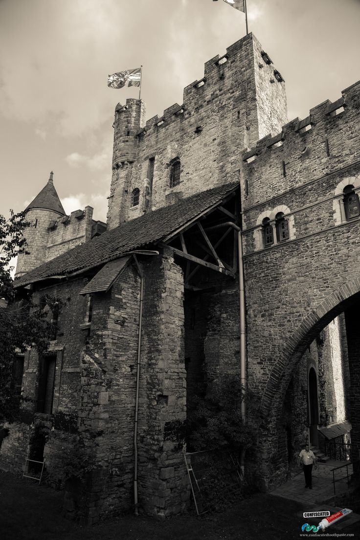 Gravensteen Castle, Ghent. A Roadtrip Through The Netherlands and Belgium Part 2: Bruges, Ghent and Brussels  --->   http://www.confiscatedtoothpaste.com/roadtrip-netherlands-belgium-part-2-bruges-ghent-brussels/