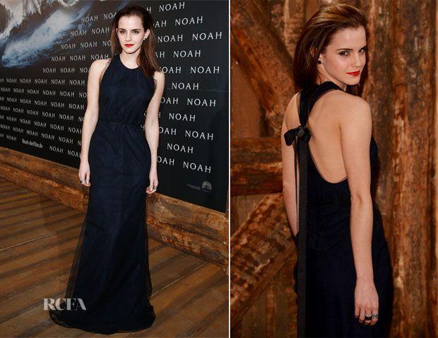 emma watson new noah photos berlin  | Emma Watson In Wes Gordon - 'Noah' Berlin Premiere » Red Carpet ...