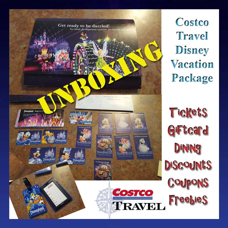 The Fulltime Family: Unboxing Costco Travel Disney Vacation Package
