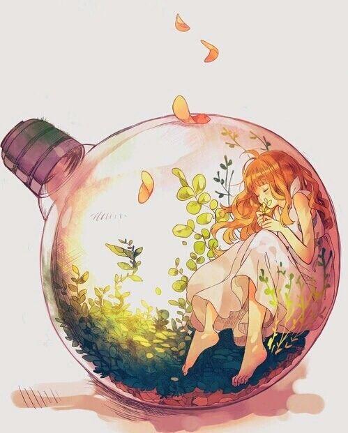 grafika anime and art