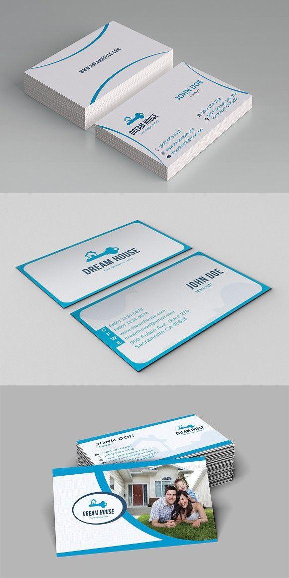Real Estate Business Card Real Estate Business Cards Custom Business Cards Business Card Design
